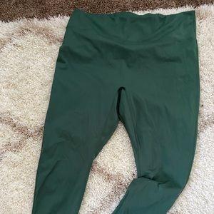 Fabletics green leggings